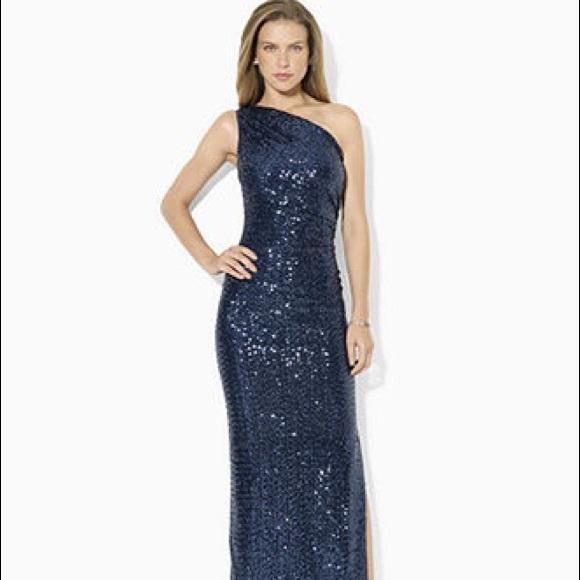 Lauren Ralph Lauren Dresses | Ralph Lauren Sequin Dress | Poshmark